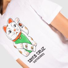 Santa Cruz Lucky Cat T-shirt 1