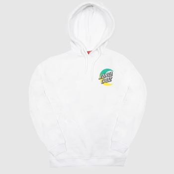 Santa Cruz White Moon Dot Fade Hood Womens#