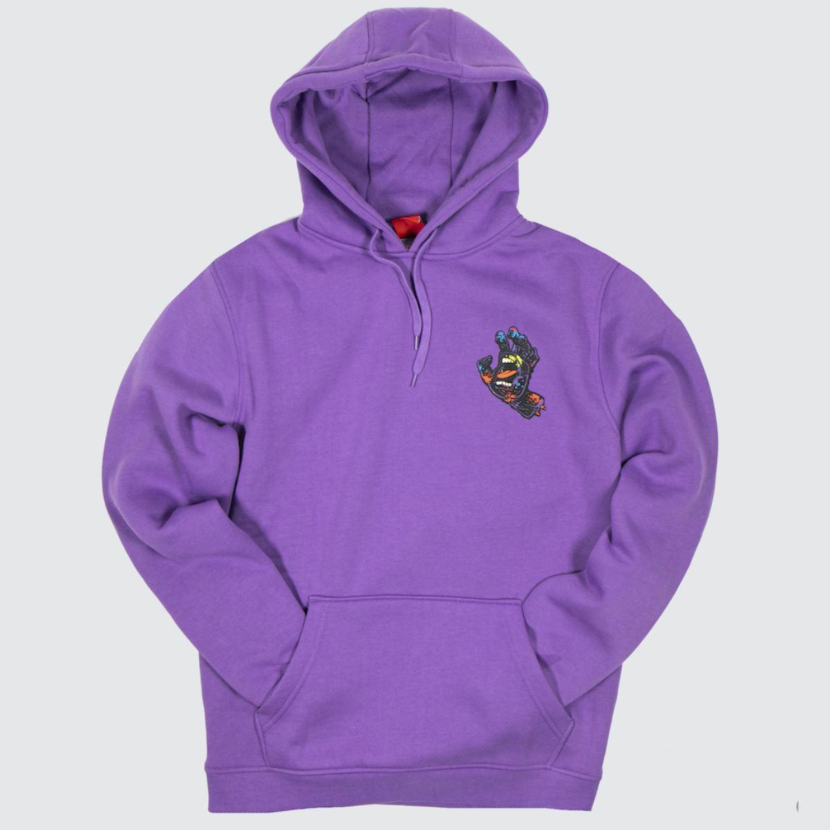 Santa Cruz Clothing Santa Cruz Lilac Hand Splatter Hood