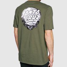 Santa Cruz Obrien Skull T-shirt 1