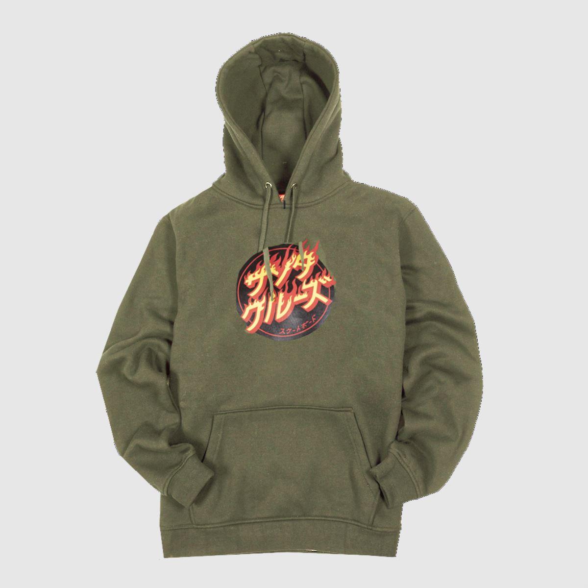 Santa Cruz Clothing Santa Cruz Khaki Flaming Japenese