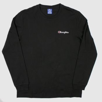 clothing Champion black crewneck t-shirt