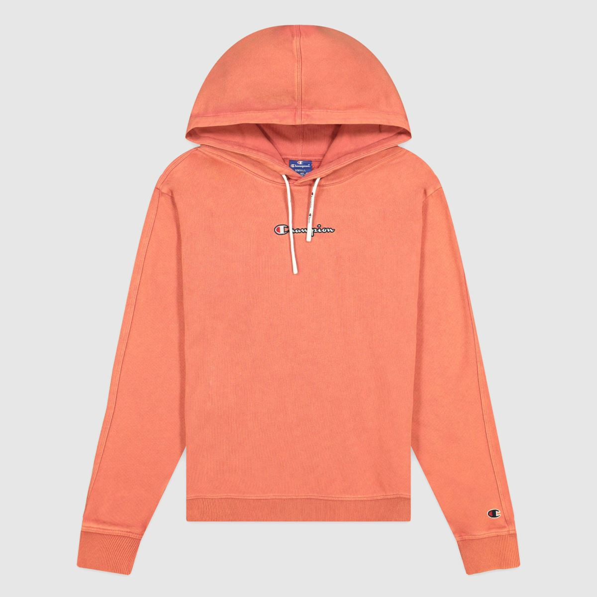 Champion Orange Hooded Sweatshirt