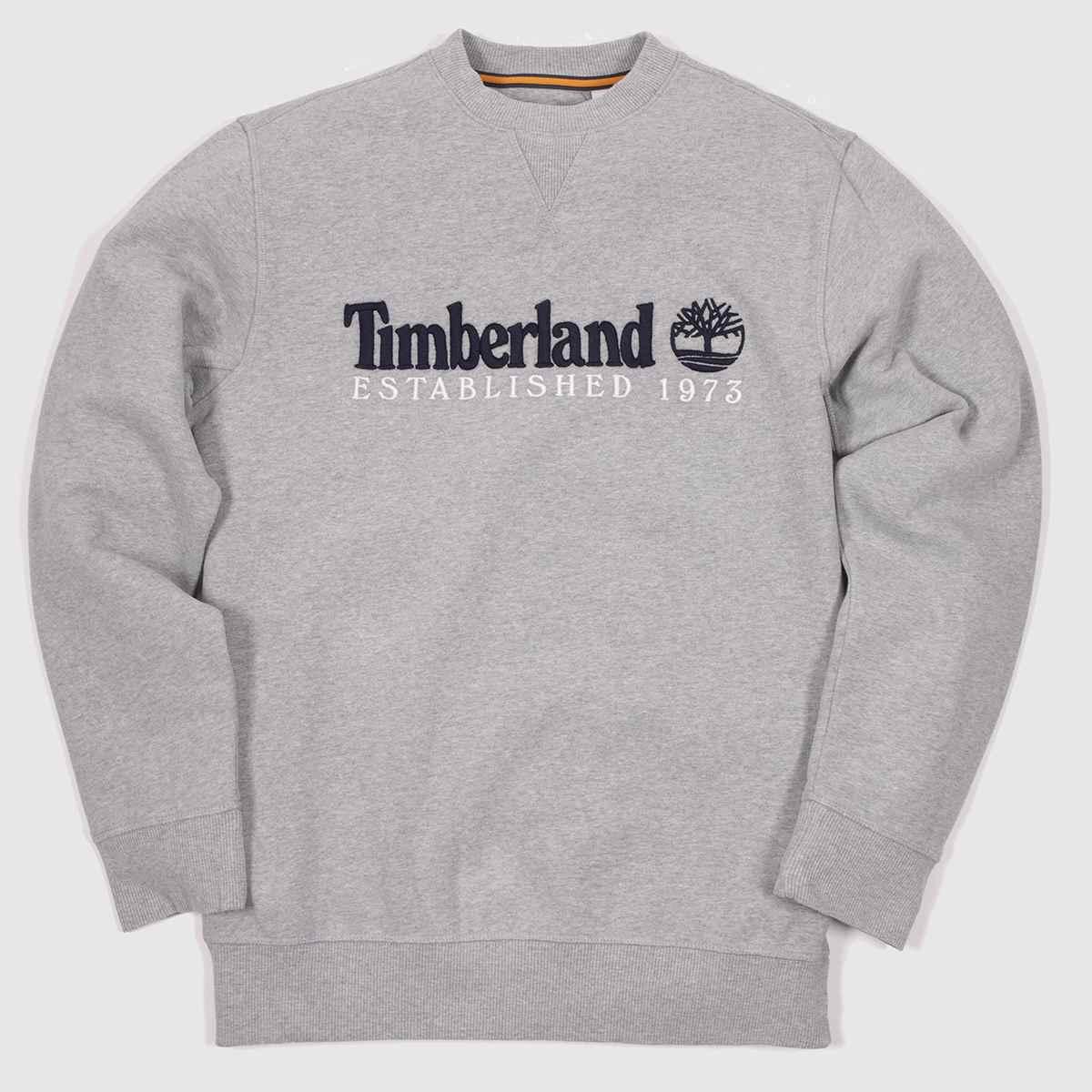 Timberland Grey Heritage Crew Neck Sweat