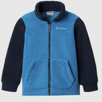 Columbia  Blue Boys Fleece Full Zip Boys