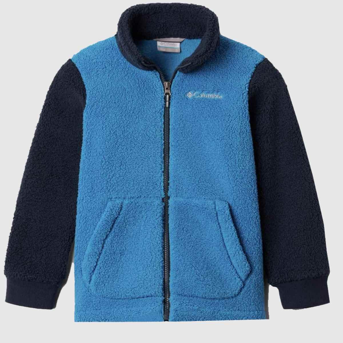 Columbia  Blue Boys Fleece Full Zip