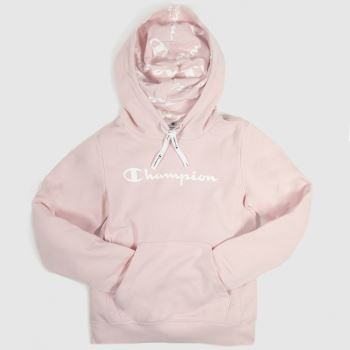 Champion Pink Hooded Sweatshirt c2namevalue::Womens