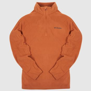 Columbia  Orange Klamath Range Ii Half Mens