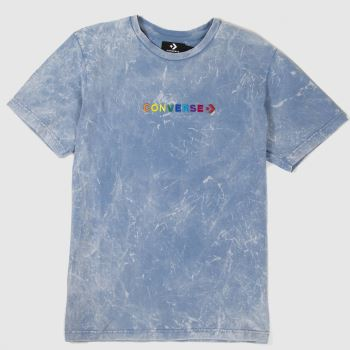 Converse Pale Blue Pride Tee c2namevalue::Mens