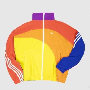 adidas Multi Pride Off Centre Jacket Mens