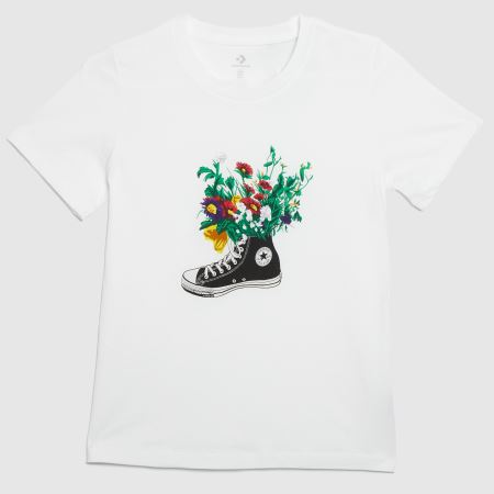 Converse In Bloom Graphic Teetitle=