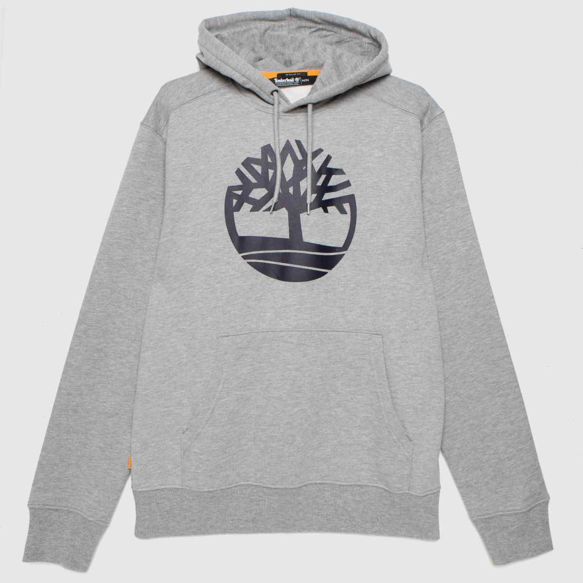 Timberland Grey Timb Tree Logo Hoodie