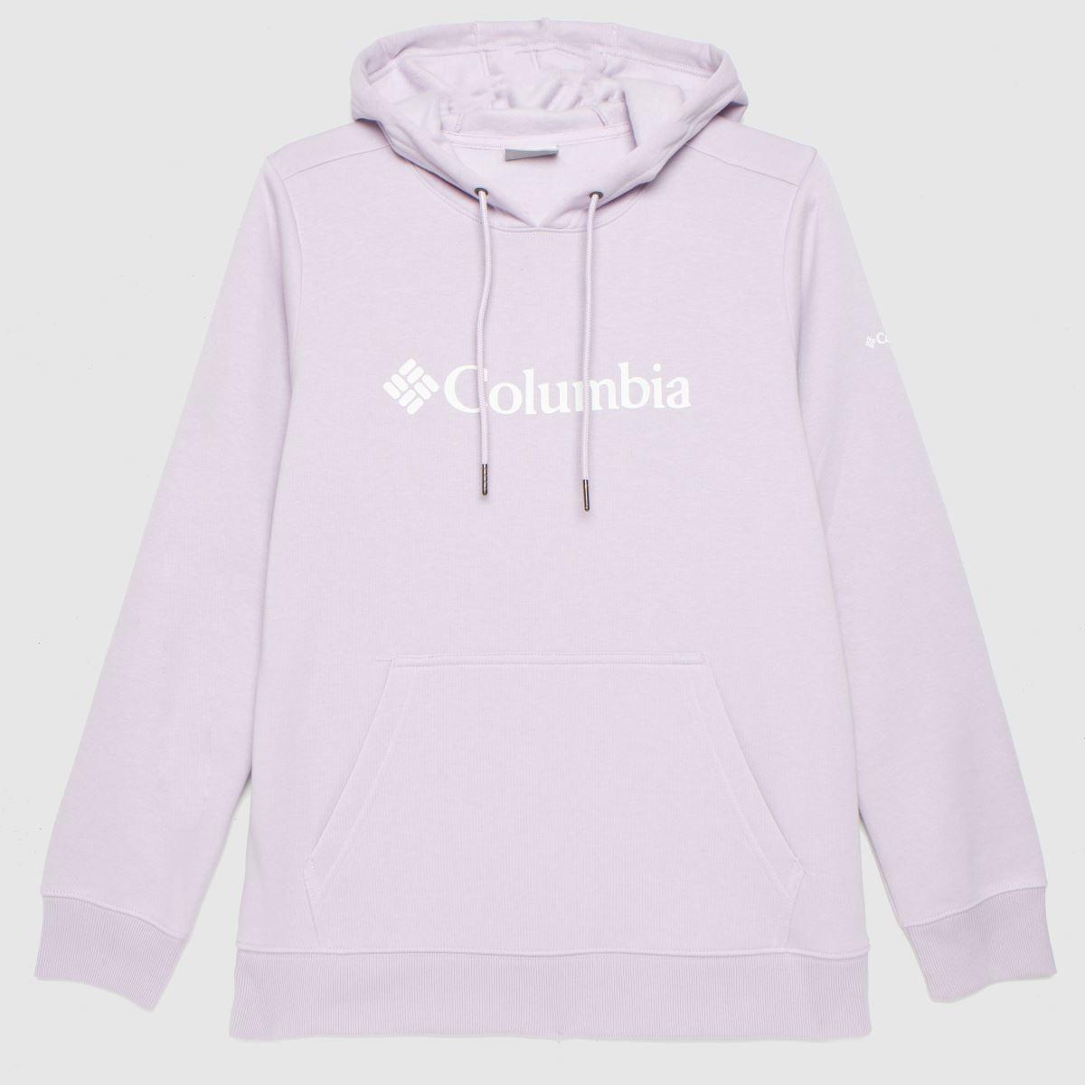 Columbia  Lilac Columbia Logo Hoodie