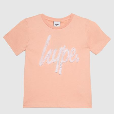 Hype Girls T Shirt Ribbon Scrititle=