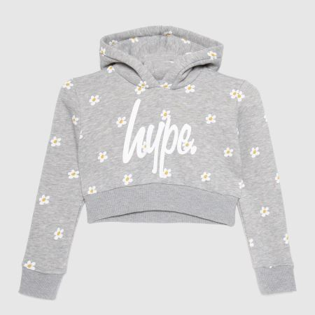 Hype Girls Cropped Hoodie Daistitle=