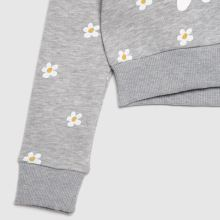Hype Girls Cropped Hoodie Dais,3 of 4