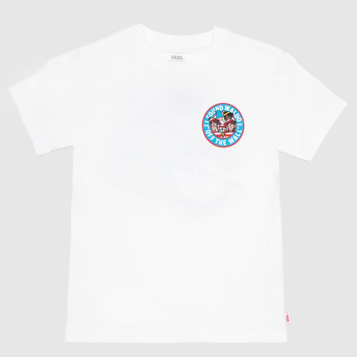 Vans White Wheres Waldo T-shirt