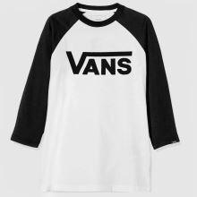 Vans Boys Classic Raglan Tee 1