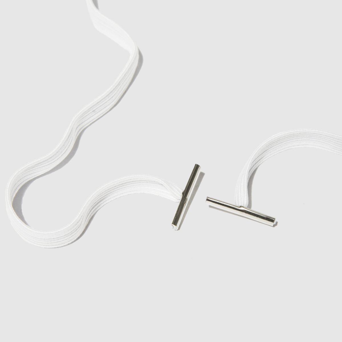 eb95c3466cc6 white synch bands s m elastic Shoe Accessories