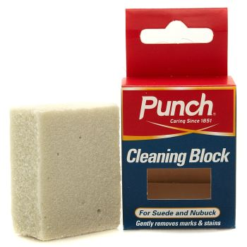 Punch Klar Suede And Nubuck Block Schuhpflege