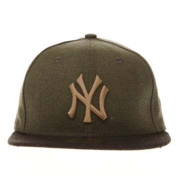 New Era Khaki Yankees 59Fifty Caps und Hüte