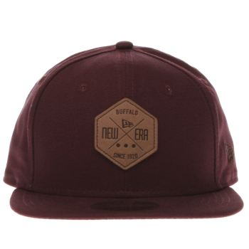 New Era Burgundy 9FIFTY HEX PATCH Caps and Hats