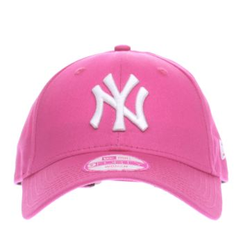 ACCESSORIES NEW ERA PINK 9FORTY LEAGUE BASIC NY YANKEES
