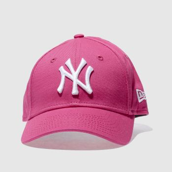New Era Pink Ny Yankees 9forty Caps and Hats