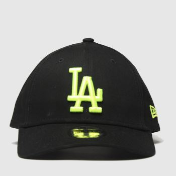 New Era Black Kids La Dodgers 9forty Caps and Hats