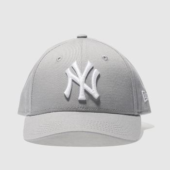 016f6682c68ac1 New Era Grey Kids Ny Yankees 9Forty Caps and Hats