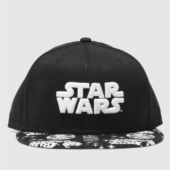 New Era Black 9Fifty Starwars Kids Caps and Hats