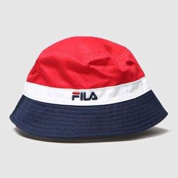 Fila Navy & Red Butler Caps and Hats