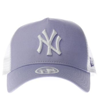 New Era Lilac Pastel Trucker Caps and Hats