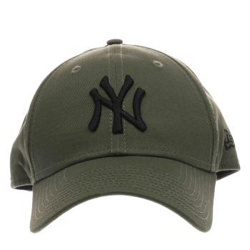 111ed283eea khaki new era mlb essential ny yankees Caps and Hats