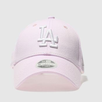 ACCESSORIES NEW ERA PALE PINK JERSEY 9FORTY LA DODGERS