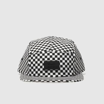 ACCESSORIES VANS BLACK & WHITE DAVIS 5 PANEL
