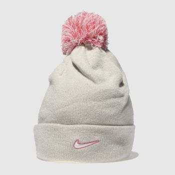 Nike Natural NK BEANIE POM Caps and Hats
