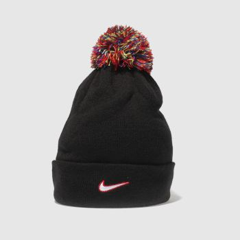 ad71d36dc14 black nike nk beanie pom Caps and Hats