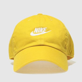 Nike Yellow H86 Futura Washed Caps and Hats