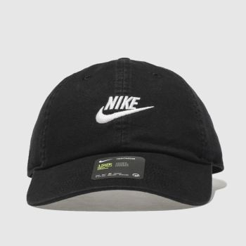 Nike Black H86 Futura Washed Caps and Hats