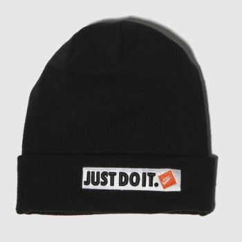 Nike Black & White Beanie Caps and Hats