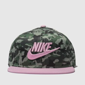 Nike Khaki Kids True Camo 2 Caps and Hats