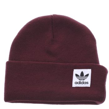 ACCESSORIES ADIDAS BURGUNDY HIGH BEANIE