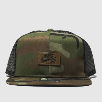 Nike Sb Khaki Nk Pro Cap Trucker Caps and Hats