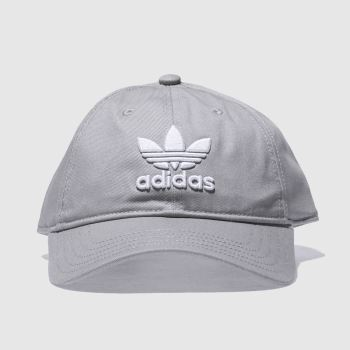 Adidas Light Grey TREFOIL CAP Caps and Hats