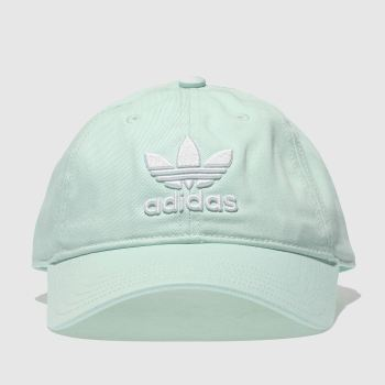 Adidas Light Green TREFOIL Caps and Hats