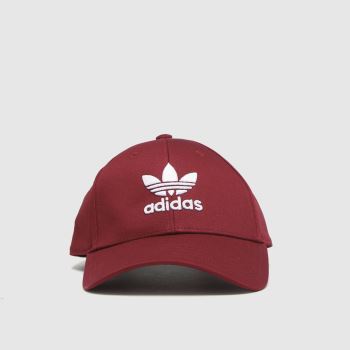 adidas Burgundy Baseball Class Tre Caps and Hats