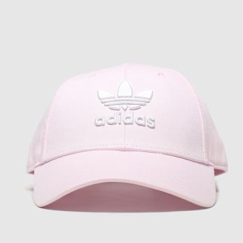 Adidas Pale Pink Baseball Classic Trefoil Adults Hats
