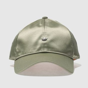 Adidas Light Green CAP Caps and Hats