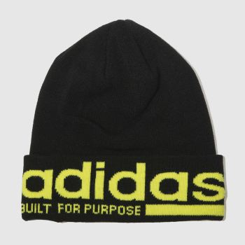 Adidas Black Beanie Caps and Hats